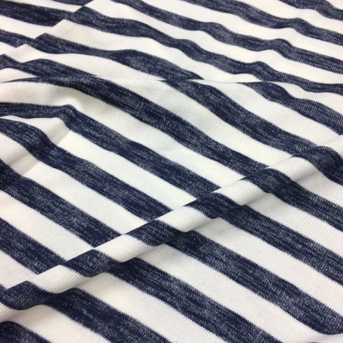 Chunky Stripe in Navy