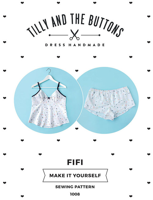 Tilly and the Buttons Fifi Pyjama Pattern