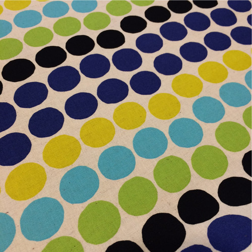 Project by Cotton Fun Spots in Blue Multi