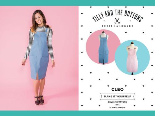 Cleo Dungaree Dress