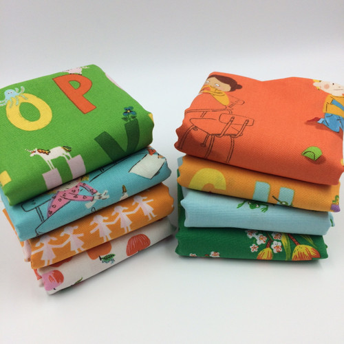 Kinder by Heather Ross - Fat Quarter Bundle