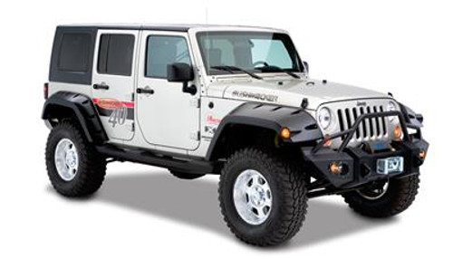BUS10044-02, REAR Jeep Max Coverage Pocket Style Fender Flare