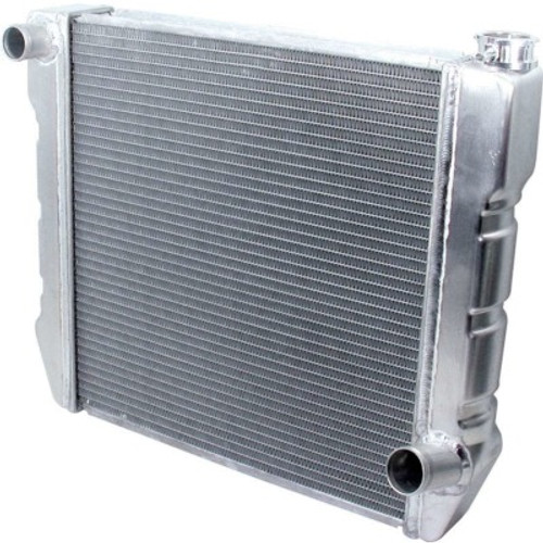 ALL30014, Radiator, 28 in W x 19 in H x 2-1/4 in D, Single Pass, Driver Side