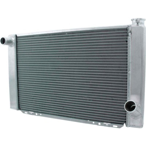 ALL30042, Radiator, 28 in W x 16 in H x 2-1/4 in D, Single Pass, Driver Side