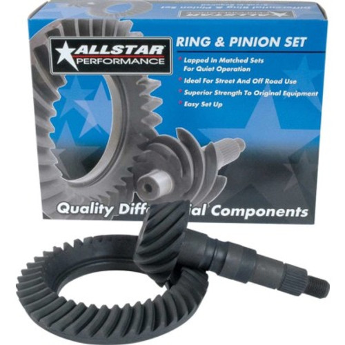 ALL70016, RING & PINION FORD 9IN 4.11