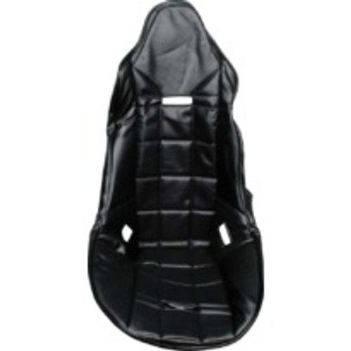 ALL98106, ALLSTAR, POLY SEAT COVER, BLACK VINYL, DRAG