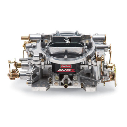EDE1905, Carburetor, AVS2, 4-Barrel, 650 CFM, Square Bore, Manual Choke, Mechanical Secondary, Single Inlet, Satin, Each