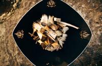 Beautiful Lotus Flower fire Pit