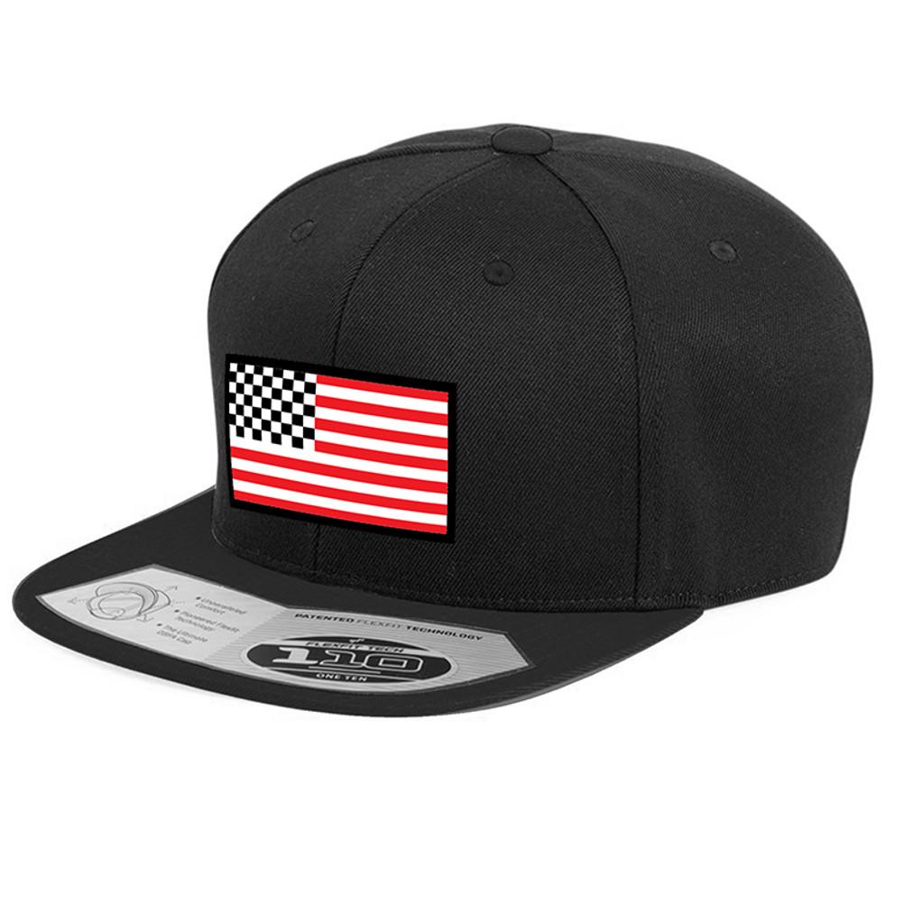 American Racing Flag snap back 110 Blk