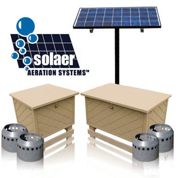 KEETON Solaer Aeration System SB-4B - Solar Powered System