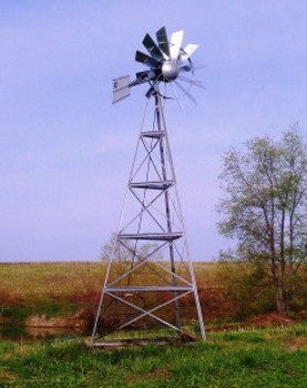 Windmill Aeration System - 12' Tower