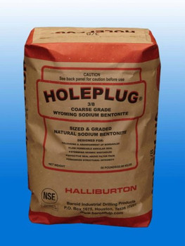 Bentonite Hole Plug (2,400 lbs)
