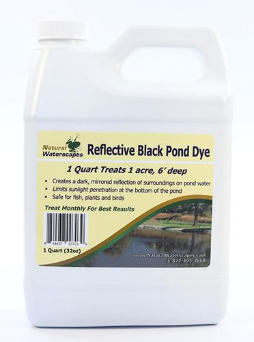 Reflective Black Pond Dye Concentrated Quart