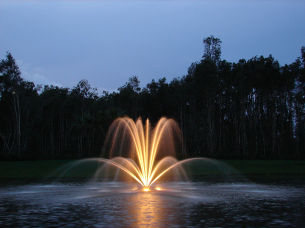 Fountain Lights with Aquamaster Fountain