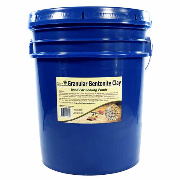 Bentonite for ponds