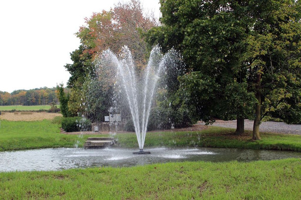 Otterbine Fountain - Omega Spray Pattern
