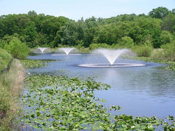 Sunburst Fountain Spray Pattern