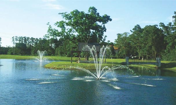 Fountain - Genesis Spray Pattern