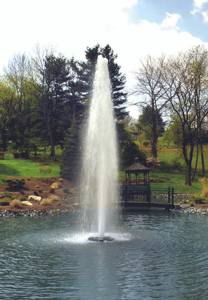 Pond Fountain - Comet Spray Pattern