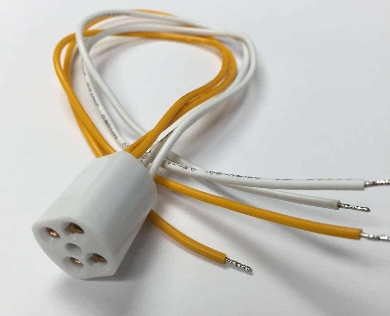 4pin T5 socket with a wire for Ultraviolet UV Bulbs Lamps ...