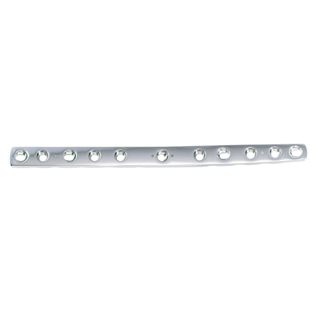 3.5mm Double Threaded Locking Pre-contoured Carpal Arthrodesis Plate