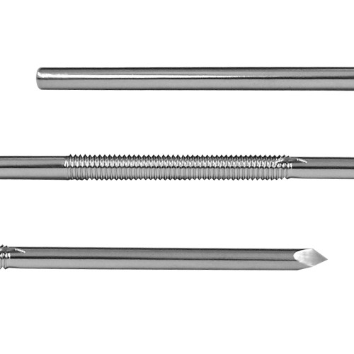 1/8 inch Centerface Fixation Pin - Positive Cortical Thread