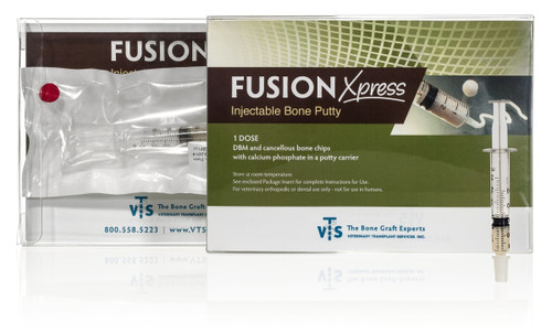 VTS® Fusion Express Bone Putty - 1.0 CC Lot No