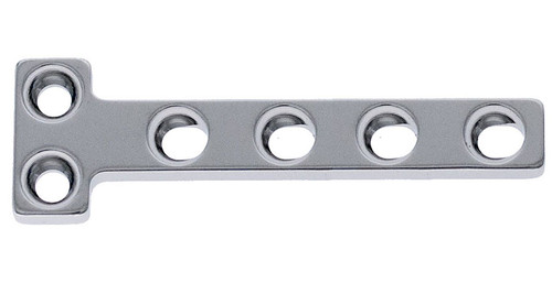 5.0mm 2x4 hole top T Plate