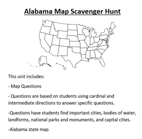 Antarctica map scavenger hunt amped up learning recommended alabama map scavenger hunt gumiabroncs Image collections