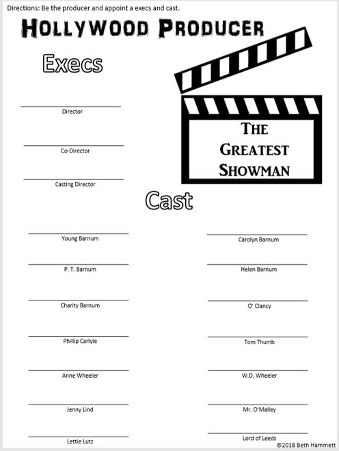 ... The Greatest Showman: 20 Activities ...