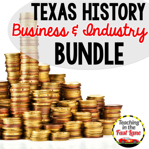 Business and Industry in Texas Bundle