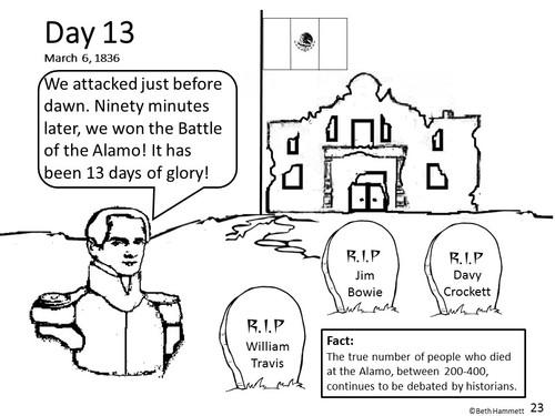 Texas history comic coloring book ·