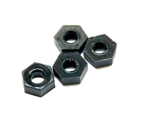 M3 Nylon Nuts (10 pieces)