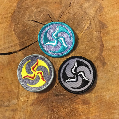 "2"" Mini TriFly Patch trio of colors"