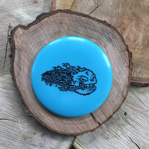 Discraft Elite Z Comet blue with big stamp