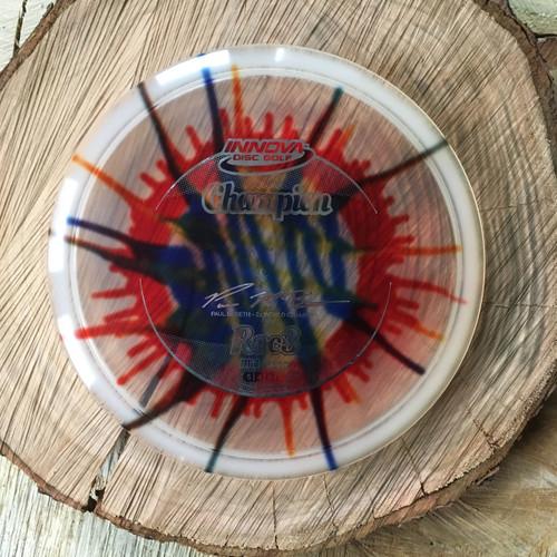 Innova Champion Fly Dye 2X Paul McBeth Roc 3 with silver stamp