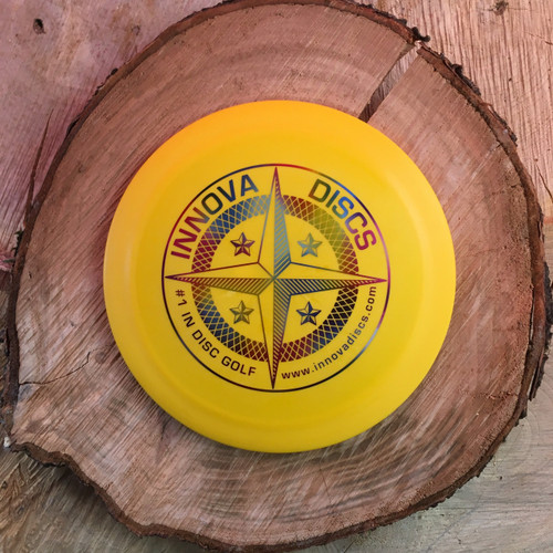 Innova First Run Star Teerex yellow with a rainbow protostar stamp
