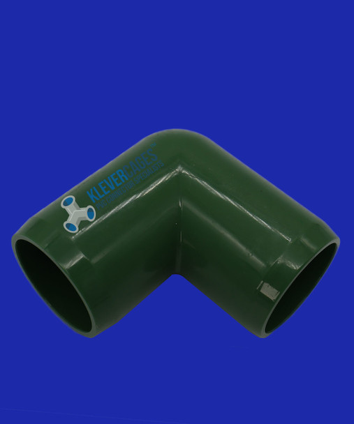 25mm Green elbow PVC connector form Klever Cages