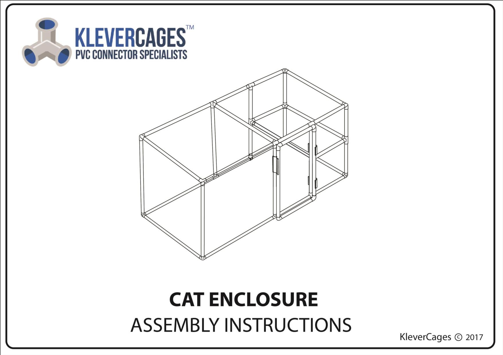Make a Cat enclosure to keep you furbaby safe- Have a look at our free plans on www.klevercages.com.au