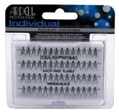 Ardell Individual Lashes (Knot-Free Flare) Medium Black