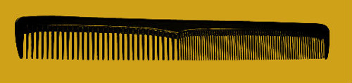"""Brittny 7"""" Styling Comb 12pk"""