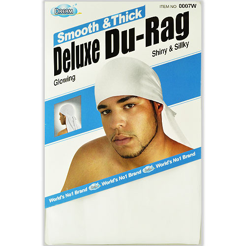 Dream White Deluxe Du-Rag