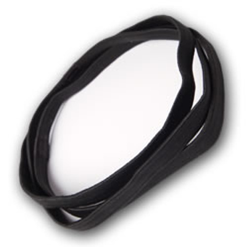 Black Elastic Headbands