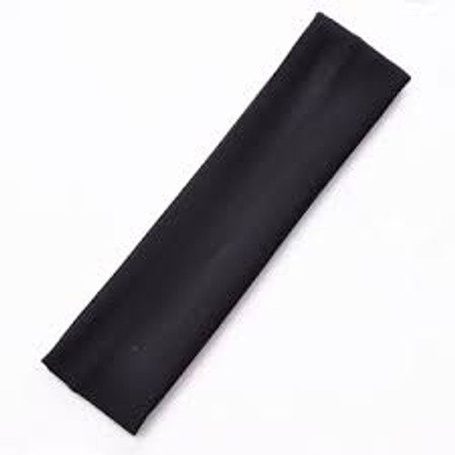 Headband Elastic Black Thick