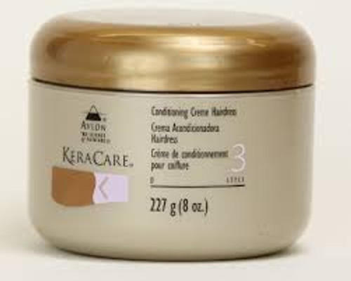 KeraCare Conditioning Creme Hairdress 8oz.
