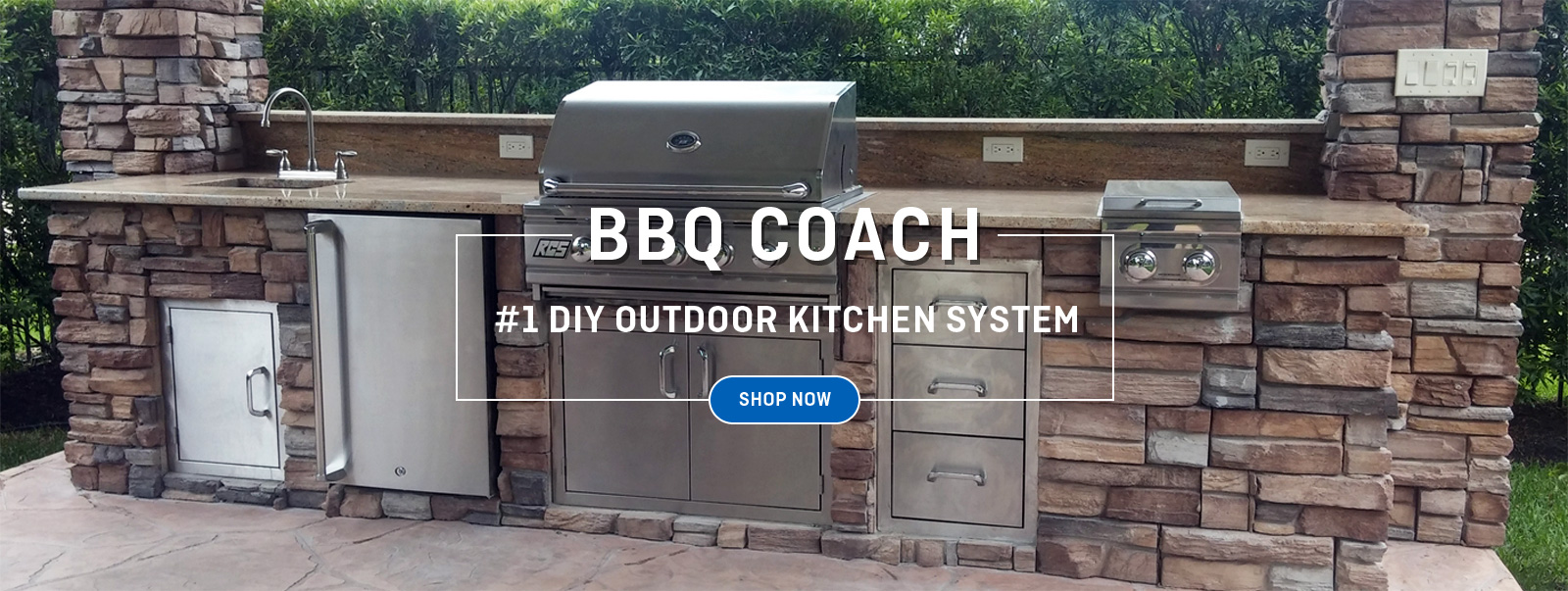 BBQ Coach   DIY Outdoor Kitchen System