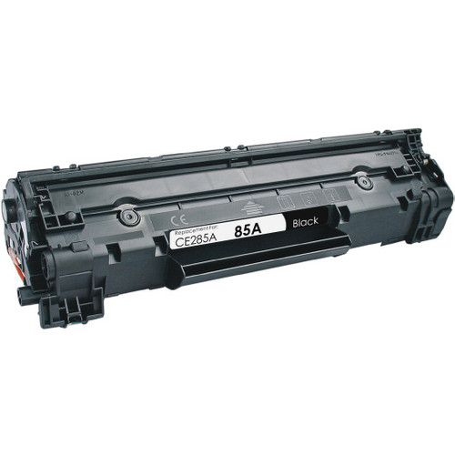 Remanufactured replacement for HP 85A (CE285A) black laser toner cartridge