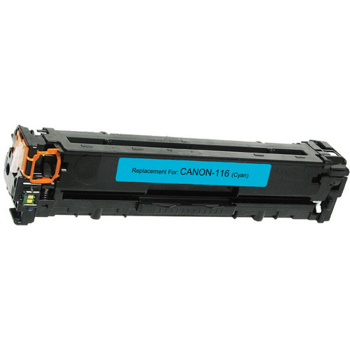 Remanufactured replacement for Canon 116 (1979B001AA) cyan laser toner cartridge