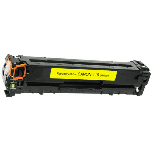 Compatible replacement for Canon 116 (1977B001AA) yellow laser toner cartridge