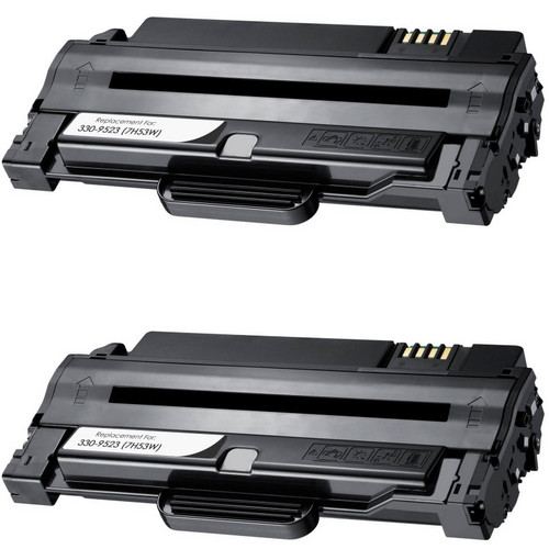 Twin Pack - Remanufactured replacement for Dell 330-9523 (7H53W)
